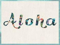 Aloha my Amy!