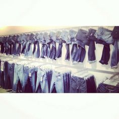 Our visual merchandising team have been hard at work once again, trying out some new ideas! This one was pulled together by @Christine Mannella #Mexx #fashion #denim #blue #cool #vm #visual #concept #potd #womenswear #style #trend