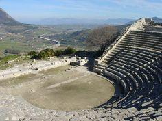 Segesta, Teatro greco....The Greek Theatre