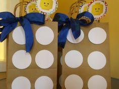 Cute LEGO Party Favor Bags!