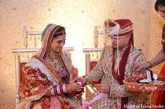 indian wedding ceremony groom bride http://maharaniweddings.com/gallery/photo/10591
