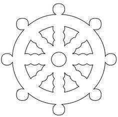 ship wheel pattern - Google Search