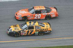 Matt Kenseth and Tony Stewart...Love both drivers.  Matt was the perfect addition to the JGR team!