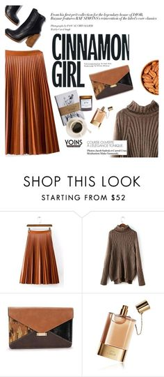 """""""Cinnamon girl"""" by punnky ❤ liked on Polyvore featuring F and Chloé"""