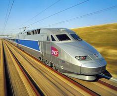 TGV Train. The fastest train in the world!