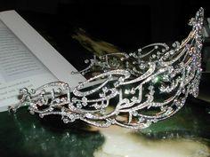 Arabic Scroll tiara