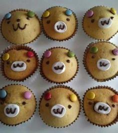 Bamse muffins
