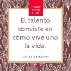 Frases | ¡A vivir con sabiduría! |www.anconstore.com