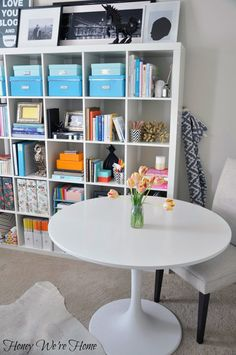 Today is another great example of when a little excitement paired with color creates a beautifully organized and styled space.  Say hello to...