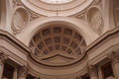 L'église Saint-Charles-aux-Quatre-Fontaines à Rome, œuvre de Borromini