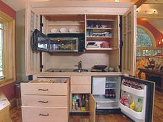 Hidden Kitchen Reveals a Clever Solution : Rooms : Home & Garden Television