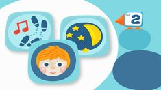Kuvakortteja voi käyttää kommunikoinnin tukena. Teaching Kindergarten, Pre School, Diy And Crafts, Education, Logos, Kids, Advice, Young Children, Boys