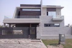 lahore construction Fencing, Villa, Construction, Mansions, House Styles, Home Decor, Building, Fences, Decoration Home