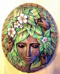 Cicada, Christine K. Harris, Super Sculpey and Acrylic Paint