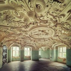 Abandoned castle in Germany!  Photo by Sven Fennema, http://www.sven-fennema.de/ Sven Fennema Photography