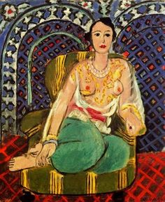 Odalisque, 1926, by Henri Matisse (French, 1869–1954).