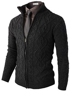 H2H Mens Casual Knitted Twisted Patterned Zip-up Cardigan CHARCOAL US L/Asia XL (KMOCAL096) H2H http://www.amazon.com/dp/B00MLN99WY/ref=cm_sw_r_pi_dp_c4unwb0M6HYWT