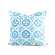 """Morrocan Tile; Geometric Fabric Collection, Cotton Pillow Cover, 18"""""""