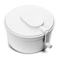 Seca salada Ghidini branca 26 cm - Utensílios Domésticos / Utilplast - Utilplast