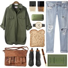 A fashion look from June 2013 featuring rag & bone/JEAN jeans, Jeffrey Campbell ankle booties and Nixon watches. Browse and shop related looks.