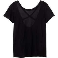 Monki Gemma top ($16) ❤ liked on Polyvore featuring tops, t-shirts, shirts, tees, black magic, shirts & tops, t shirts, black tee, cross shirt and heart tops