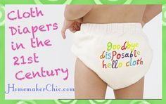 All about modern cloth diapers