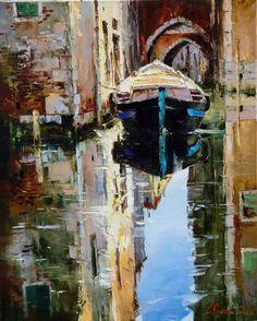 Russian artist Gleb Goloubetski | Venice 78x63 2006