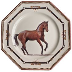 Chantilly Equestrian Horse Dinnerware - traditional - dinnerware - by Gracious Style Equestrian Gifts, Equestrian Decor, Equestrian Style, Traditional Dinnerware, Vases, Enchanted Home, China Patterns, French Country Decorating, Flatware Set