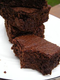 Nutella Brownies These are the best brownies ever! I always use brown sugar and dutch cocoa...YUM!