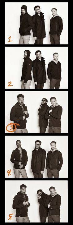 Looking cool and casual in their dark Icebreaker gear, the cast of What We Do in the Shadows, Taika Waititi, Jemaine Clement and Stu Rutherford, were spotted at the Sundance Film Festival during the viewing of their new vampire comedy. Photos courtesy of Kane Skennar.