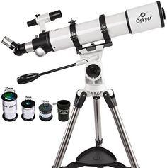 Gskyer Powerseeker AZ Using German Technology Refractor Telescope Reflecting Telescope, Telescopes For Sale, Enhancement Pills, Camera Tripod, Printer Scanner, Focal Length, Cool Things To Buy, Stuff To Buy, Aperture