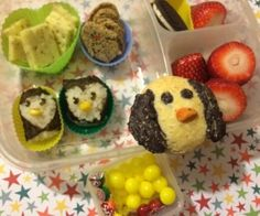 Even more penguins #FunFoodFriday
