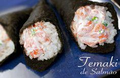 Confira receitas de temaki que podem ser preparadas em casa sem muito no trabalho e são tão gostosas quanto os comprados prontos.