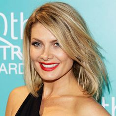Looking for hairstyles for thin shoulder length hair - I like Natalie Bassingthwaighte hair