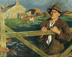 British Paintings: Stanhope Alexander Forbes - The Farmer