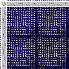 Drawdown Image: Figurierte Muster Pl. XLVIII Nr. 3 (a) Motif 4, Die färbige Gewebemusterung, Franz Donat, 8S, 8T