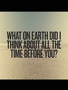 Not that I want to, but even if I did, it would be futile - I can't stop thinking about You!