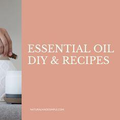 Recipe Boards, Natural Life, Make It Simple, Essential Oils, Essentials, Recipes, Diy, Natural Living, Bricolage
