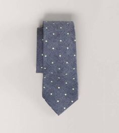 Polka Dot Chambray Tie by American Eagle Outfitters