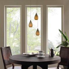 luminaire intérieur suspensions pour le coin repas avec table à manger et…