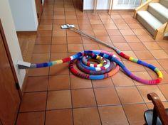 Ravelry: yarnRx's Vacuum hose 'hose'...