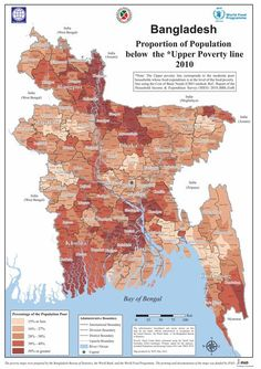 Learn! Rising concerns over rising sea levels. part of #GETSI collection. Changing Ice Mass and Sea Level #UNAVCO #Education #Module #GPS #geodesy #free #college #undergraduate #LessonPlan This photo:Bangladesh poverty map