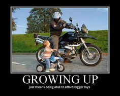Growing Up - This was so me and my brother growing up with my dad!!