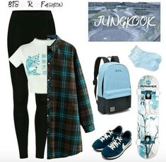 48 Ideas fashion korean kpop bts shoes 48 Ideas fashion korean kpop bts shoes Source by canikbr Source by WomensShoesFashionus fashion korean Korean Outfits Kpop, Kpop Fashion Outfits, Grunge Outfits, Casual Outfits, Cute Outfits, Korean Fashion Kpop Bts, Teenager Outfits, Outfits For Teens, Dance Outfits
