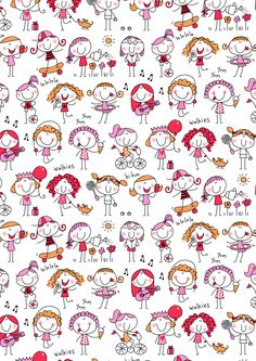 wallpaper Pregnancy pregnancy v back Doodle Art, Doodle Drawings, Easy Drawings, Sketch Notes, Stick Figures, Cute Illustration, Scrapbook Paper, Painted Rocks, Print Patterns