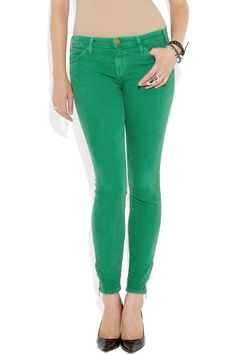 In love with these green jeans