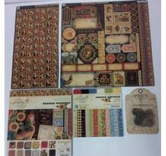 Enter to win the French Country Scrapbook collection from Graphic 45!  Contest ends May 24, 2013!