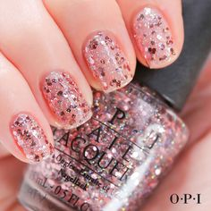 Don't overthink it. Grab You Pink Too Much from @OPI Products Spotlight on Glitter Collection. #OPIGlitter