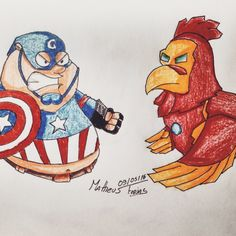 Captain Griffin vs Iron Chicken