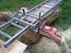 My Chainsaw Mill - by Don W @ LumberJocks.com ~ woodworking community